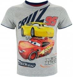 T-shirt Auta Zygzak szary