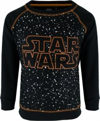 Bluza Star Wars w kropki czarna