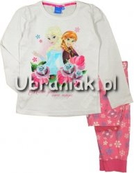 Piżama Kraina Lodu Anna i Elsa różowa