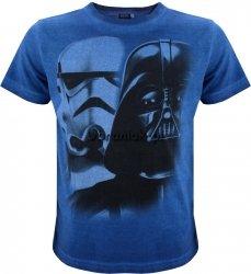 T-shirt Star Wars Vader Face granat