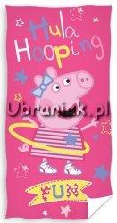 Ręcznik kąpielowy świnka Peppa Hula-hop