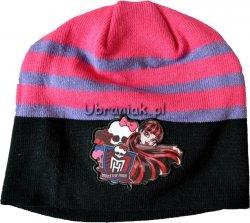 Czapka jesienna Monster High czarna
