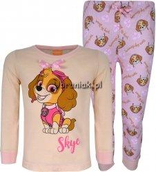 Piżama Psi Patrol Skye dla dziewczynki morelowa
