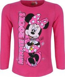 Bluzka Myszka Minnie Rocks różowa