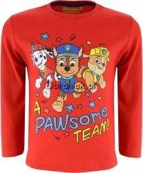 Bluzka Psi Patrol TEAM czerwona