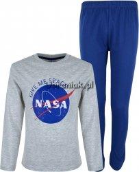 Piżama NASA granatowo szara