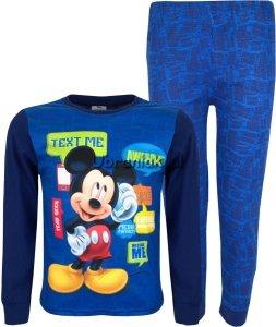 Piżama Myszka Miki granatowa