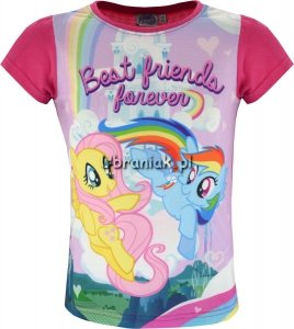 T-shirt Kucyki Pony Friends róż