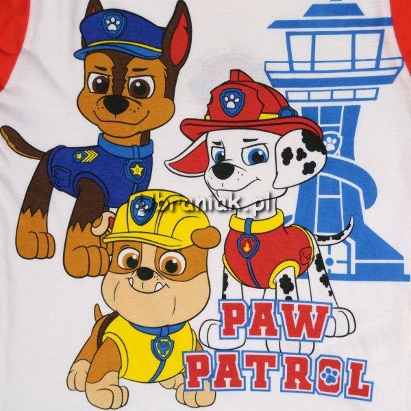 Piżama Psi Patrol Marshall Rubble Chase czerwona