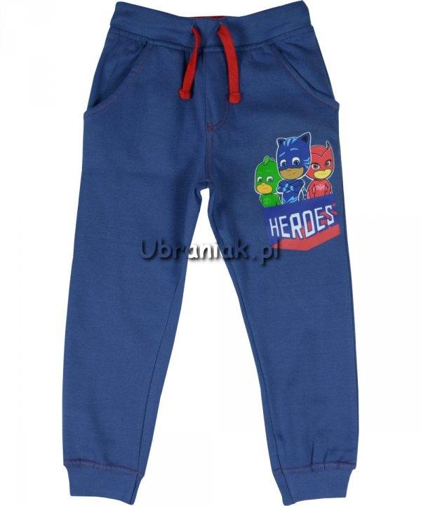 Spodnie Pidżamersi Heroes niebieskie