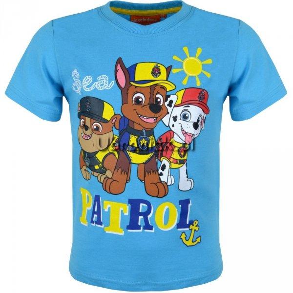 Koszulka Psi Patrol Sea niebieski