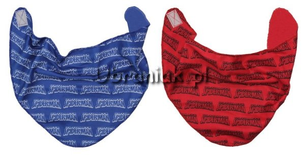 Szalik, apaszka Spiderman niebieski i czerwony