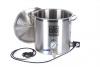Garnek elektryczny 50l 2x2000W + kranik + termometr