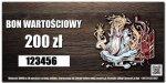BON Wartościowy - 200zł