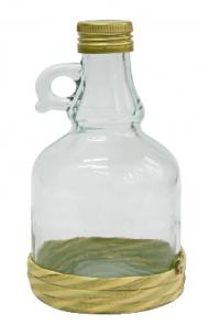 Butelka Gallone 0,5 L w oplocie, z zakrętką