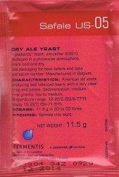 Drożdże piwowarskie Fermentis Safale US-05 saszetka 11.5 g