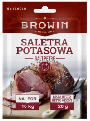 Saletra potasowa do peklowania mięsa - 20 g