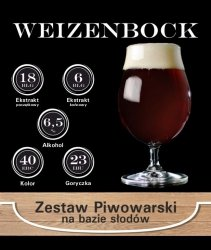 Surowce piwowarskie na 23L. - Weizenbock