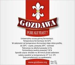 Drożdże piwne górnej fermentacji PURE ALE 7