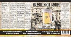 Oberschlesische Brauerei Silesian Lager - 1,7kg + drożdże