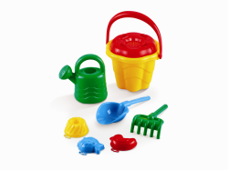 Komplet zabawek do piaskownicy