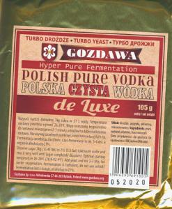 Drożdże Polska Czysta Wódka de Luxe