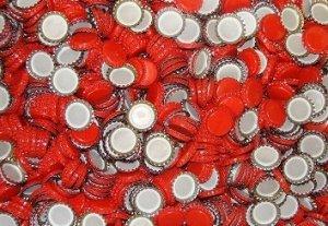 Kapsle czerwone 26mm