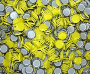 Kapsle żółte 26mm