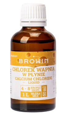 Chlorek wapnia w płynie - 50 ml