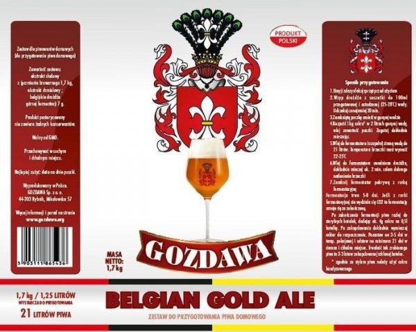 Belgian Gold Ale 1,7kg + drożdże
