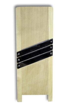 Szatkownica drewniana 49x17cm- 3 ostrza