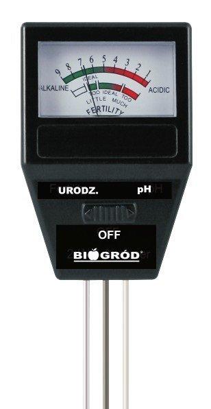 Tester podłoża 2w1 pH i urodzajność gleby