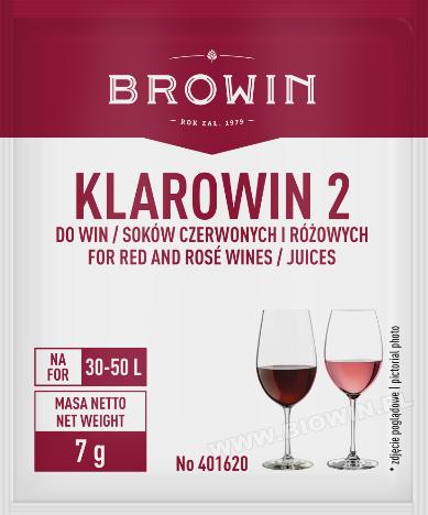 Klarowin2 - 7g -  do klarowania win czerwonych