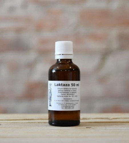 Laktaza - enzym usuwający laktozę