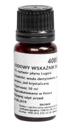 Jodowy wskaźnik skrobi - 1% roztwór płynu Lugola
