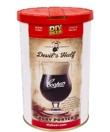 Koncentrat do wyrobu piwa Devils HalfRubyPorter 1,7kg