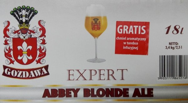 Gozdawa Expert 3,4kg Abbey Blond Ale