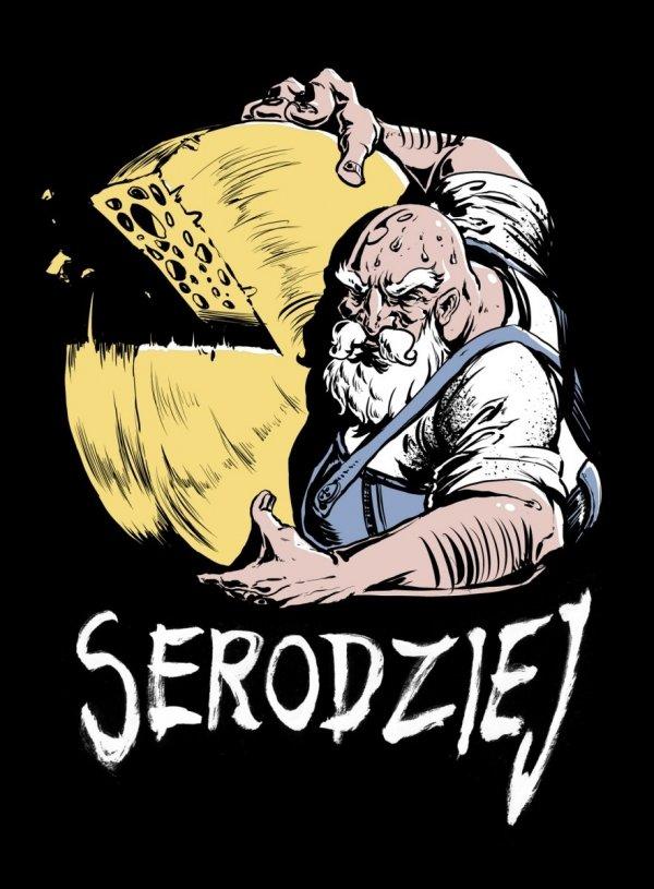 Koszulka, T-shirt Serodziej roz. XL