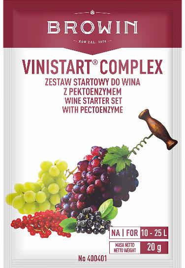 Vinistart Complex - zestaw startowy do wina, 20 g