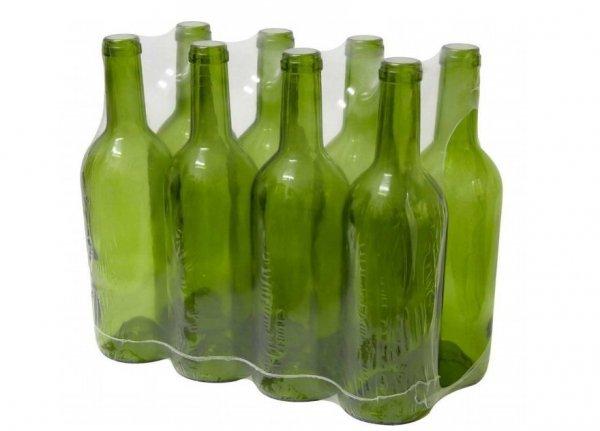 Butelka na wino 0,7 l oliwkowa - zgrzewka 8 szt