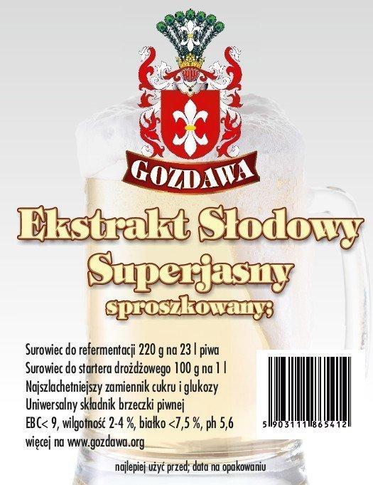 Superjasny Suchy 220 gram STARTER