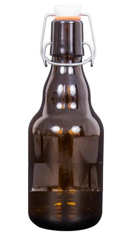 Butelka na piwo 330 ml z korkiem hermetycznym