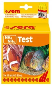 Sera Test Na Jony Amonu, Amoniak Test NH4, NH3 15ml