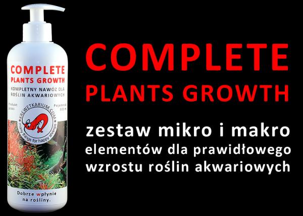 Kompletny Nawóz Dla Roślin Akwariowych - Cpg - 500Ml