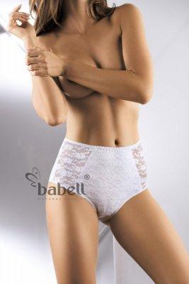 Babell  Lace-Fit BBL 070 Bílé Kalhotky
