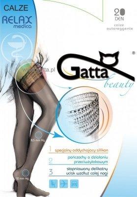 Gatta Calze Relaxmedica DEN 20 Punčochy
