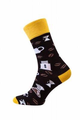Sesto Senso Finest Cotton káva Ponožky