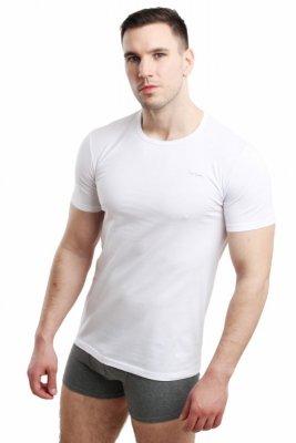 Pierre Cardin Rneck bílý Pánské triko