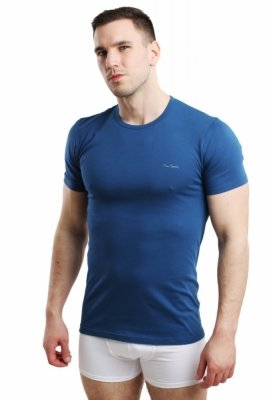 Pierre Cardin Rneck jeans Pánské triko