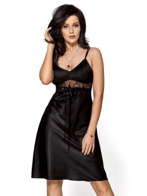 Gorsenia Nancy K444 Černá Noční košilka